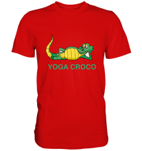 Laden Sie das Bild in den Galerie-Viewer, - Yoga Croco -  - Premium Shirt