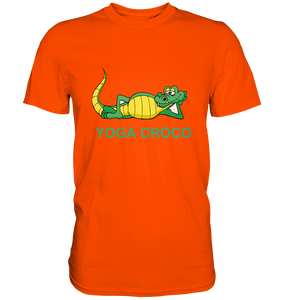 - Yoga Croco -  - Premium Shirt