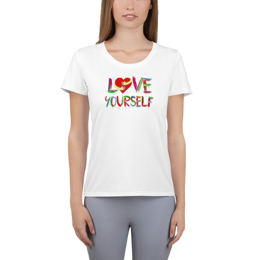 T-Shirt für Frauen - Love Yourself -