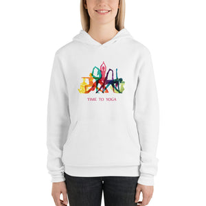 Unisex Hoodie - Time to Yoga -