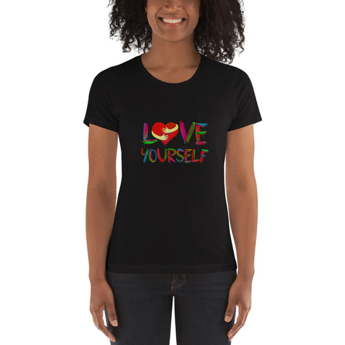 Frauen T-Shirt - Love Yourself -