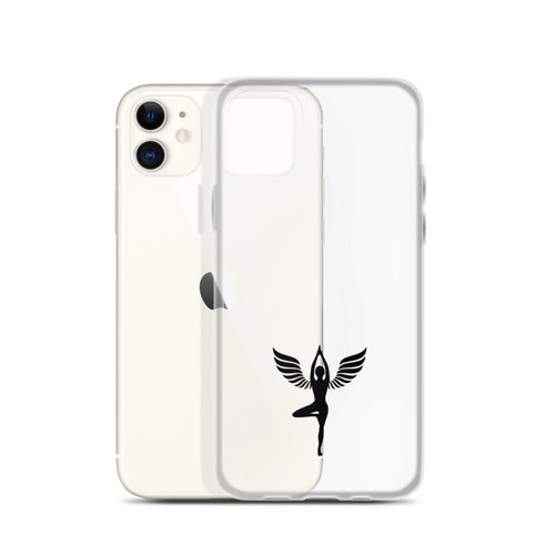 iPhone Hülle - Yoga Angel -