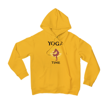Laden Sie das Bild in den Galerie-Viewer, - Yoga Time -  - Basic Unisex Hoodie
