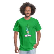 Laden Sie das Bild in den Galerie-Viewer, Unisex T-Shirt: - Lotus - - bright green