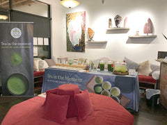 Japanese green tea event