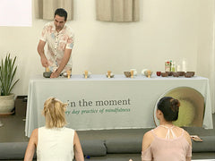Green tea demonstration