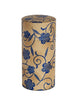 Japanese Tea Canister Kanoko Blue