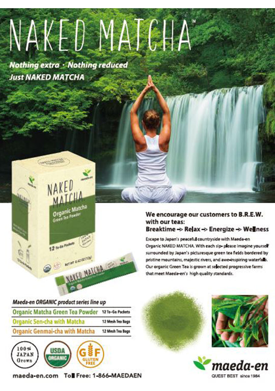 NAKED MATCHA Organic Matcha Green Tea Powder