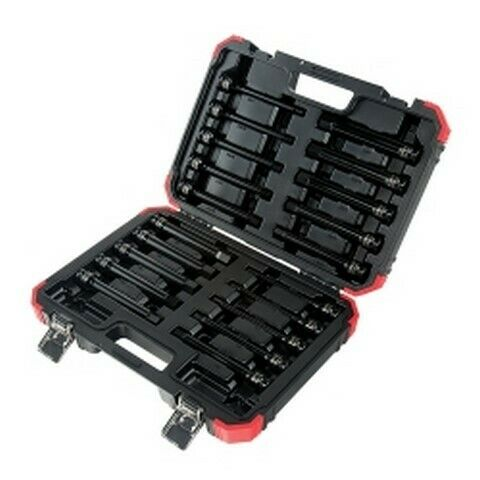 Sunex Tools 20-Piece 1/2 in Drive Impact Hex Driver Master Set 6 in Long