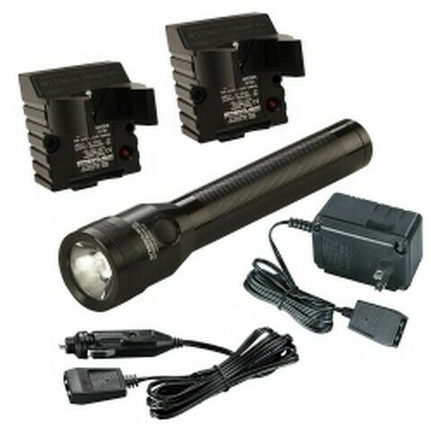 Stinger Classic LED Rechargable LED Flashlight 120V AC/DC 2 Holders STL75662