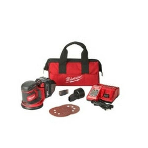 Milwaukee M18 Random Orbit Sander w/ 1 REDLITHIUM XC Battery Kit MLW2648-21