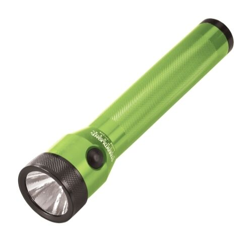 Lime Green Stinger Rechargeable Flashlight with AC/DC and 2 Holders STL75197