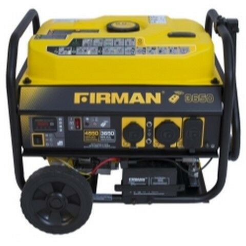 P03603 Gas Powered 3650/4550 Watt Portable Remote FRGP03603