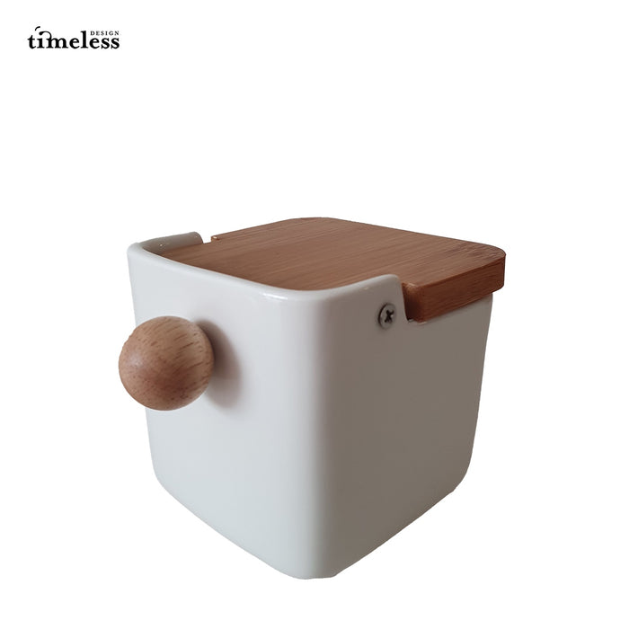 Takuma Cabinet Ceramic Seasoning Pot