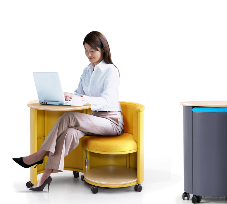 Zora Mobile Workstation - Timeless Design Lifestyle Store