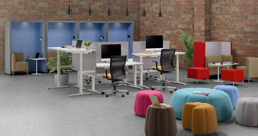 Alison 150cm Ergonomic Workstations - Timeless Design