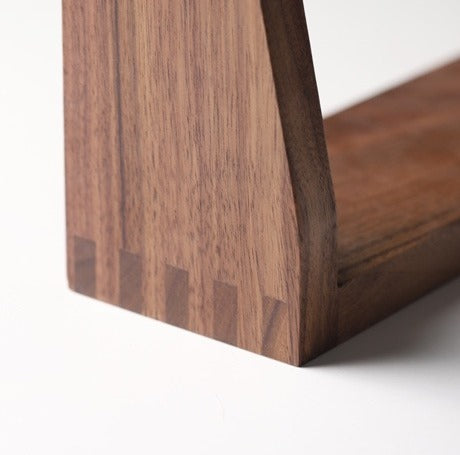 Billy Walnut Wood Key Storage Stand