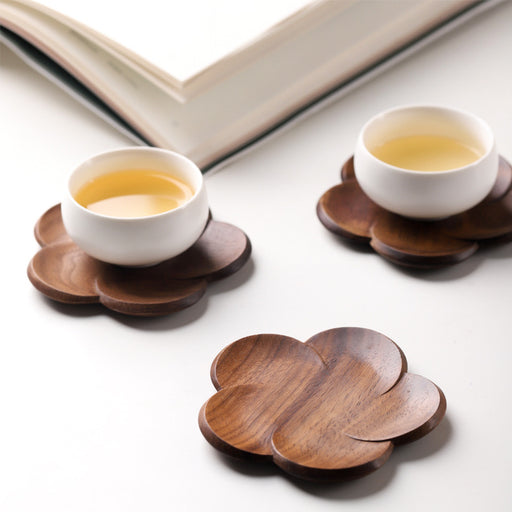 Ally Walnut Wood Coaster - Timeless Design