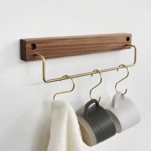 Hugo Walnut Cloth Hanger (S) - Timeless Design