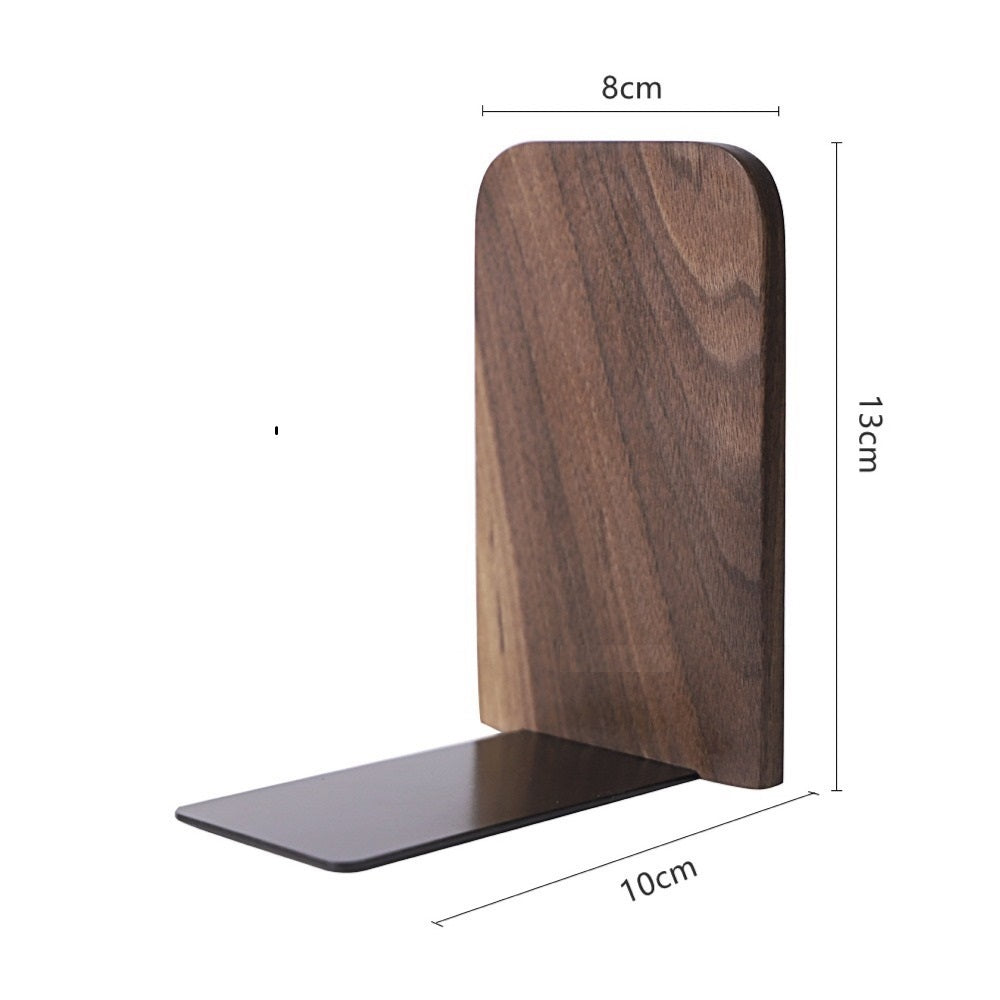 Alura Walnut Bookend (1pc) - Timeless Design