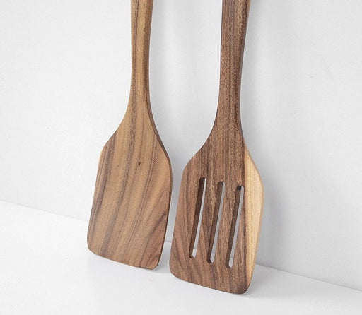 Ally Teak Wood Frying Spatula - Timeless Design