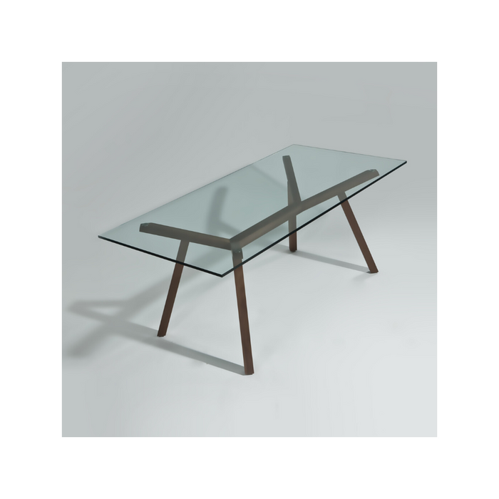 Maxo II 180X90 Glass Table - Timeless Design