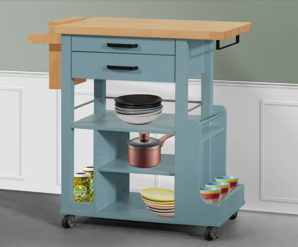 Mazza Kitchen Cart - Timeless Design