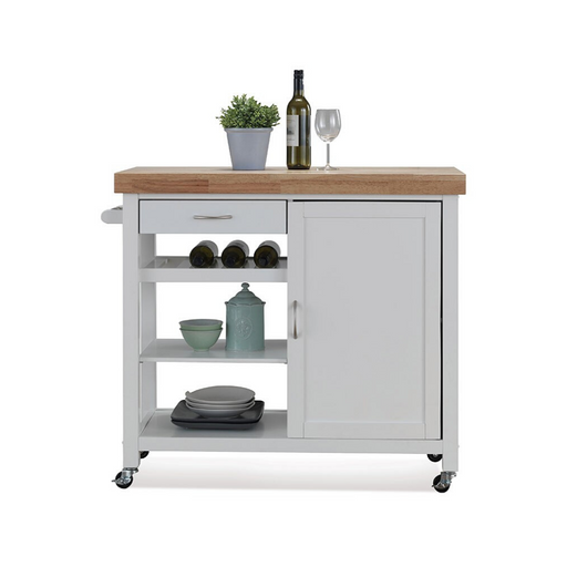 Divino Kitchen Cart (Thick Top) - Timeless Design