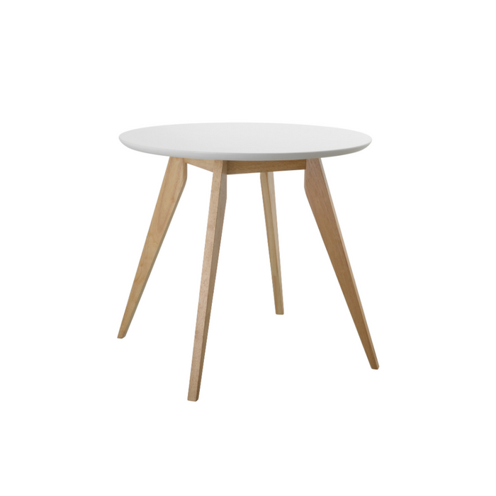 Tux Round Table - White Top - Timeless Design