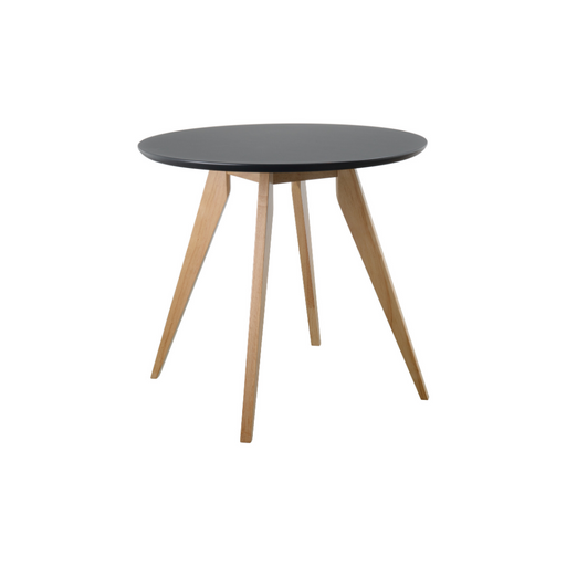 Tux Round Table - Black Top - Timeless Design
