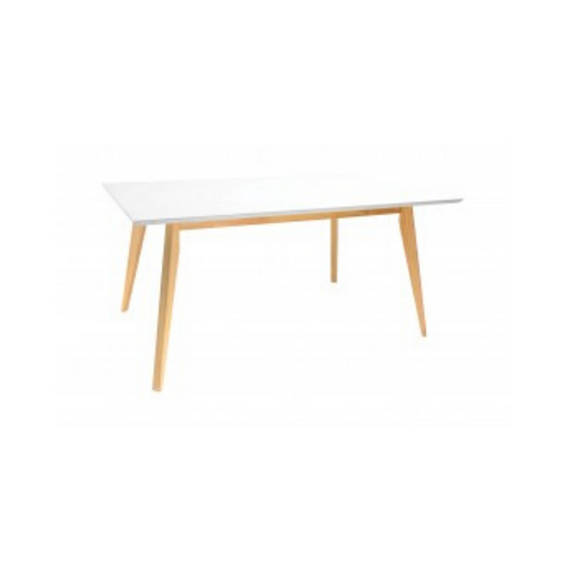 Tux Rectangular Table - White Top - Timeless Design