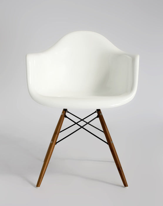 Connie Arm Chair ( Wooden Leg ) - Timeless Design