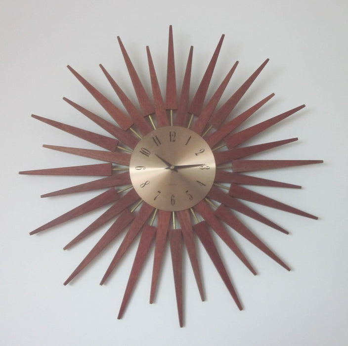 Double Starburst Clock - Timeless Design