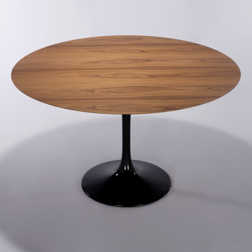 Hella Tulip Wooden Round Table - Timeless Design