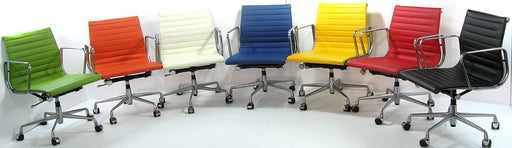CE Aluminium Mid Back Management Chair - Timeless Design