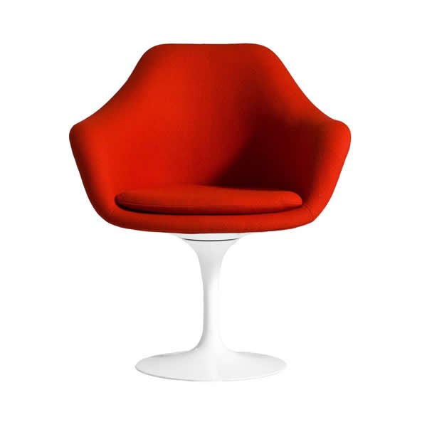 Anile Tulip II Arm Chair (Full Upholstered) - Timeless Design