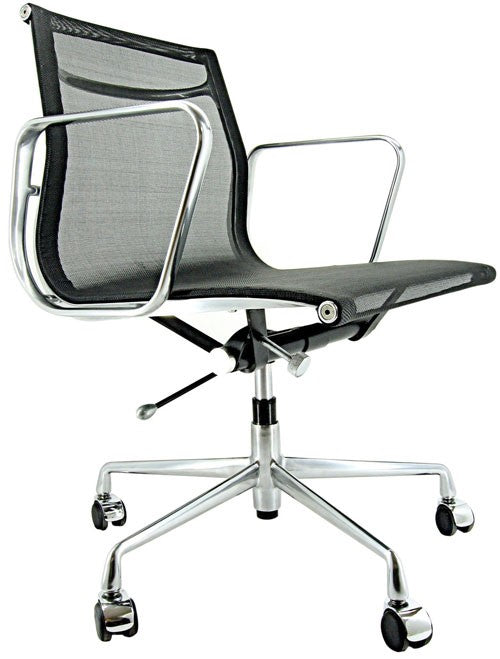 CE Aluminium Mesh Management Chair - Timeless Design