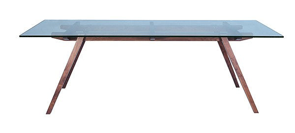 Madera Glass Table - Timeless Design