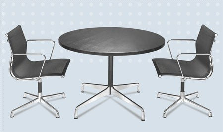 CE Aluminium Group Round Table 1958 - Timeless Design Lifestyle Store