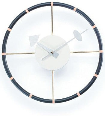 Steering Wheel Clock - Timeless Design