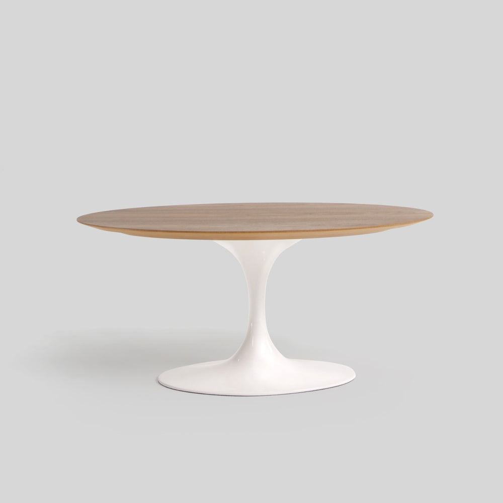 Hella Wooden Oval Coffee Table - Timeless Design