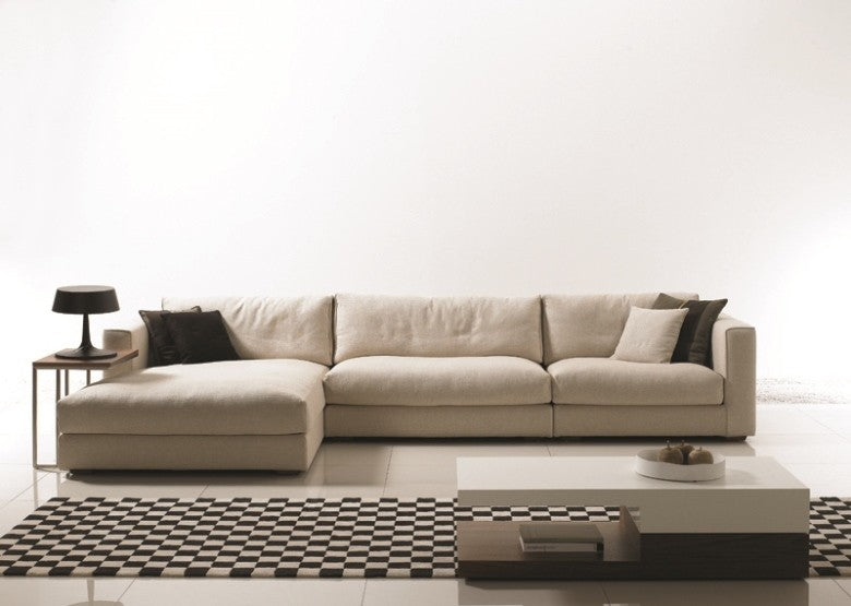 Hendrix L shape Sofa (L330) - Timeless Design Lifestyle Store
