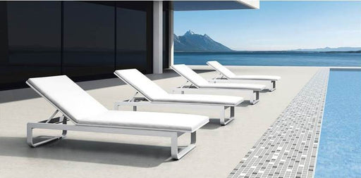 Kasper Sunlounger With Cushion - Timeless Design
