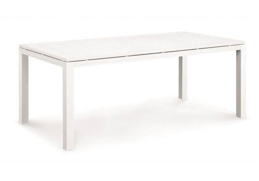 Miler Full Aluminium Table 200cm - Timeless Design