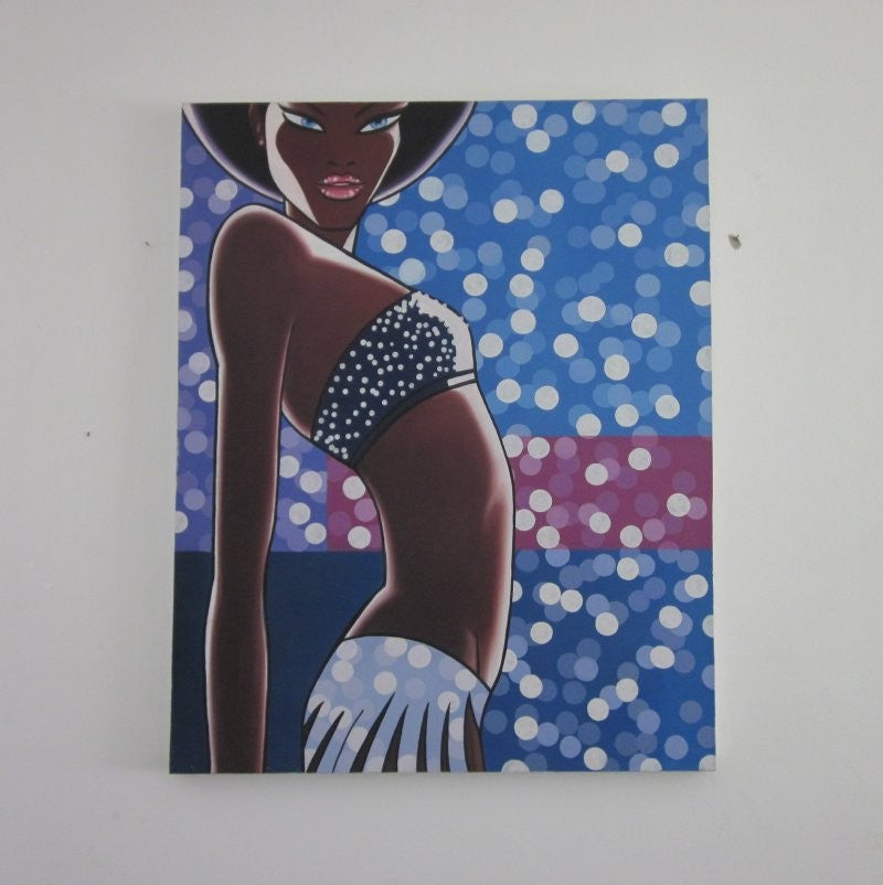 Oil Painting - Sexy Lady - Timeless Design Lifestyle Store