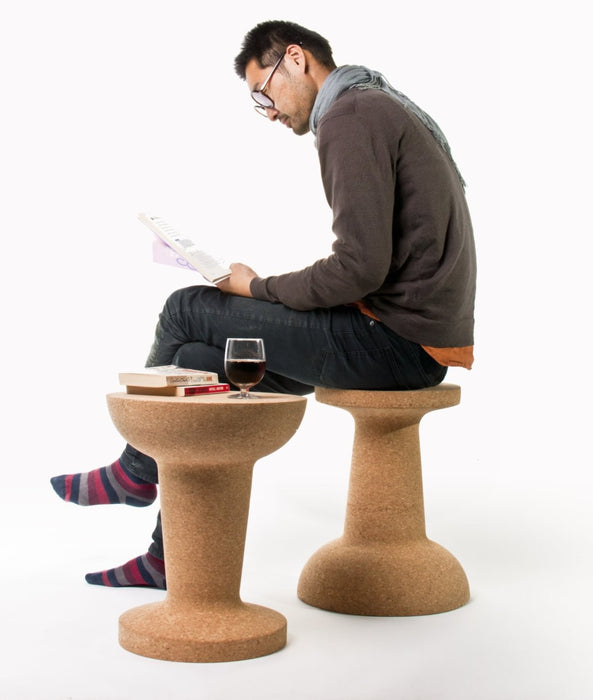 Pushpin Cork Stool - Timeless Design