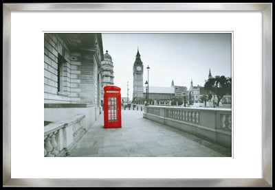 Picture Frame: Public Telephone Booth - Timeless Design