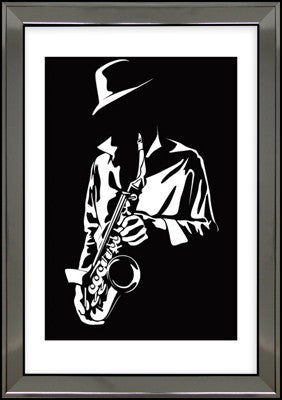 SYB1018B Picture of saxophone 2 - Timeless Design