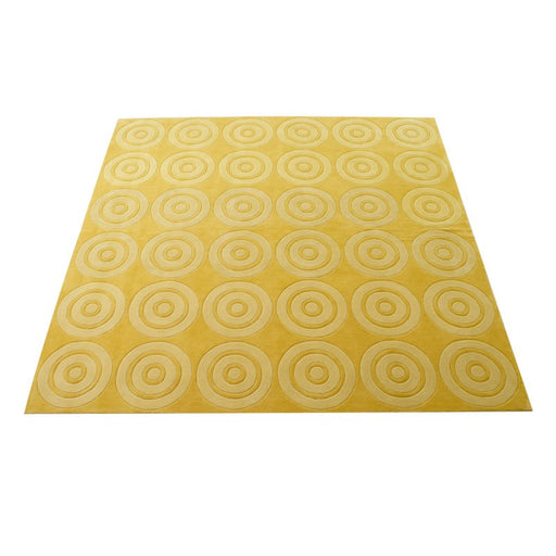 VP Mosaic Yellow Carpet 253X253cm - Timeless Design