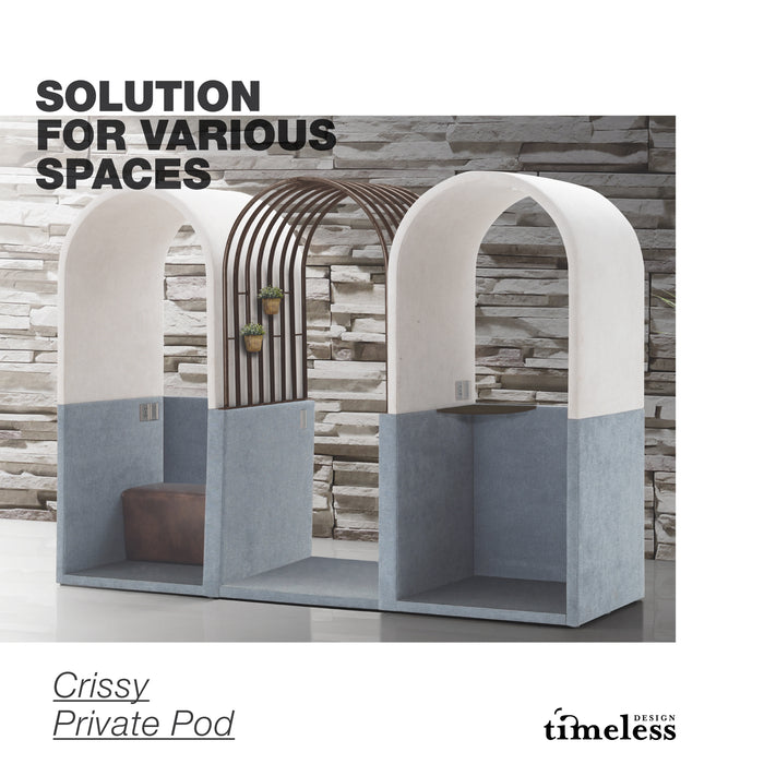 Crissy Private Pod - Timeless Design